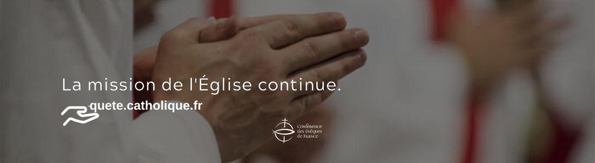 Restons fidèle au don, l'Eglise a besoin de vous !